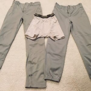 Youth Boys Baseball Pants, Etc.